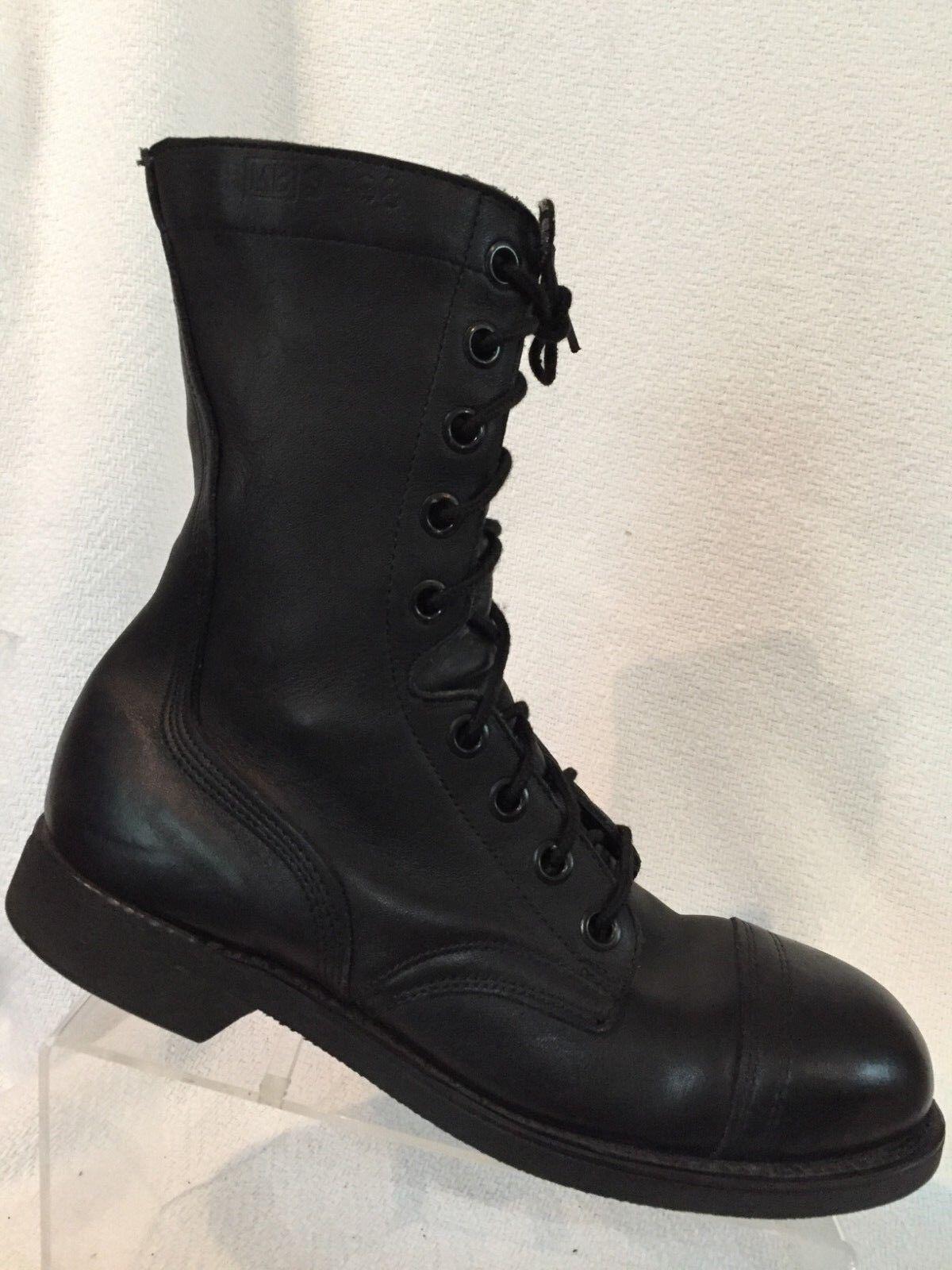 Biltrite ANSI Negro Cuero Puntera De Acero De Combate Militares botas Hombre R