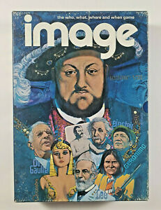 Image Board Game, Vintage 1972, Trivia Board Game, Complete No Missing Pieces