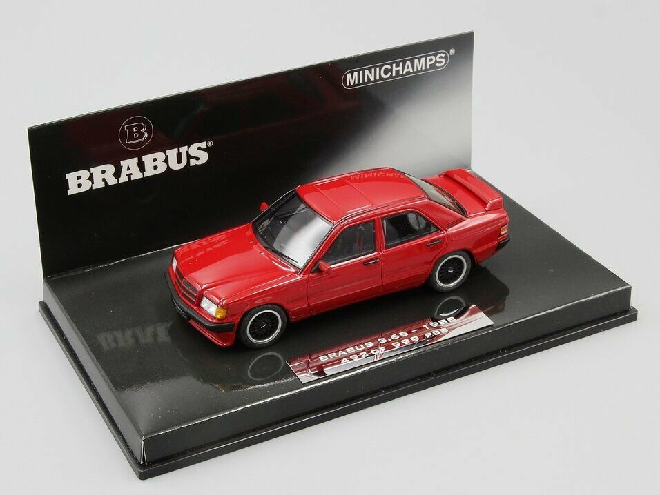 Minichamps 1 43 Brabus 190E 3.6S 1989 rosso