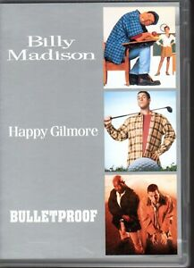 BILLY-MADISON-HAPPY-GILMORE-BULLETPROOF-3-DVD-SET-R4-2006-LIKE-NEW