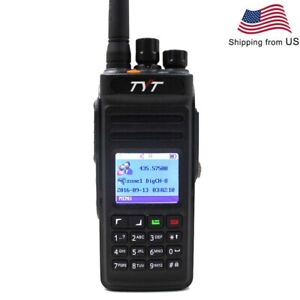 TYT-MD-398-UHF-400-470MHZ-walkie-talkie-IP67-DMR-Digital-Radio-10W-FM-radio