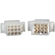 "Molex 12-Pin Connector Kit 0.093"" 1 Set"
