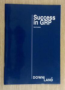 K&C Mouldings ~ Downland 'Success in GRP' 12th Edition Brochure/Catalogue