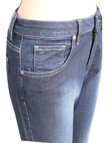 30 32 34 Damenhose 4290556 Colac Martha Jeans Damenjeans dark used 36-52 Lg