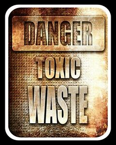 Details about DANGER TOXIC WASTE TEENAGER BEDROOM SON DAUGHTER METAL SIGN  TIN WALL PLAQUE 218