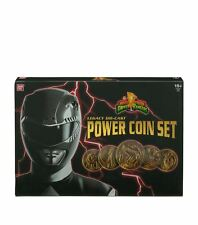 Power Rangers The Legacy Collection Power Coins Set - Brand New