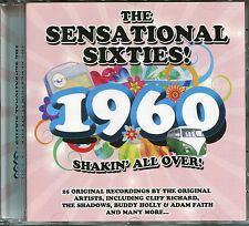 THE SENSATIONAL SIXTIES 1960 CD SHAKIN' ALL OVER! INCLUDES MY OLD MANS A DUSTMAN