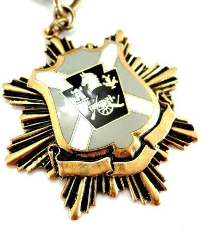 Vtg heavy Heraldic Shield Coat of Arms Crest Star