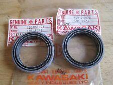 KAWASAKI NOS FORK SEAL SET (2) KDX200 KDX250 KL650 KLR650 KX80 KZ1000 92049-1045