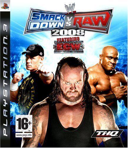 WWE Smackdown VS Raw 2008 - PS3 - JEU - NEUF