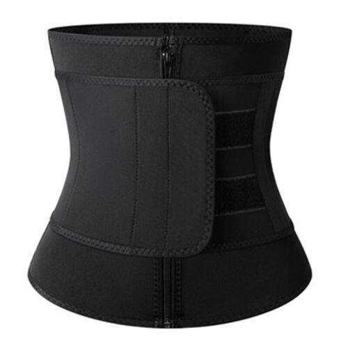 Details about  /Entrenador de Cintura Faja Cinturón Para Adelgazar Moldeador Para Mujer Hombre