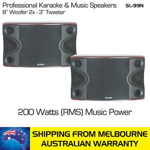 ACNOS-KARAOKE-MUSIC-SPEAKERS-SL-99N-200-WATTS-RMS-PAIR