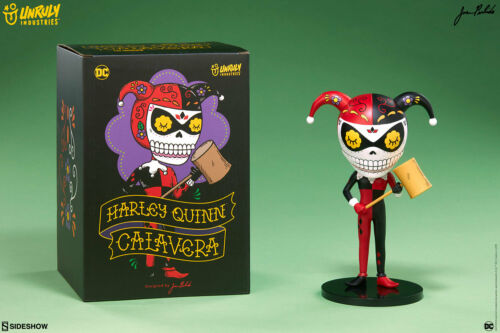 DC Comics Harley Quinn Calavera par JOSE Pulido Statue Figurine New in Box