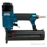 50mm 18 Gauge Air Brad Nailer - Silverline Nail Gun.