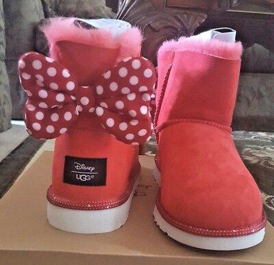 UGG Disney Minnie Sweetie Bow Boots