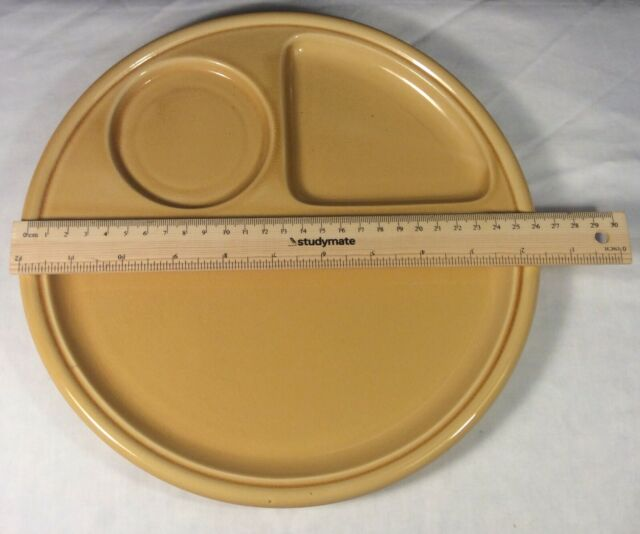 Adult Dinner Set Sized Divided Ceramic Plates - One Plate Only - 14#