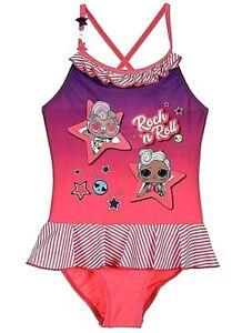 LOL Surprise ! Costume da bagno Bambina Estate Mare Piscina da 5 6 7 8 9 10 anni