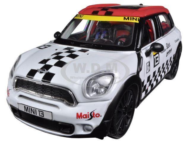 Maisto 1 24 Mini Countryman Cooper S Diecast Model Racing Car