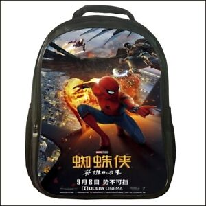 Spider-Man-Homecoming-Backpack-Canvas-Travel-Bags-Casual-Mellow-School-Bag