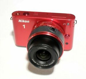 Nikon-1-J1-10-1-MP-Digital-Camera-Red-w-VR-10-30mm-Lens
