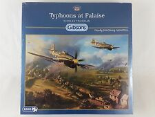 GIBSONS TYPHOONS AT FALAISE 1000 PIECE JIGSAW PUZZLE WORLD WAR 2 NEW SEALED
