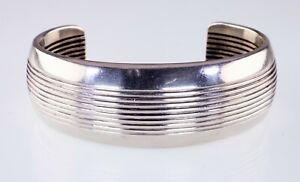 Allison Snowhawk Lee Sterling Silver Cuff Bracelet