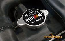 RalliArt Racing Radiator cap STICKER - JDM   Mitsubishi Lancer Evo