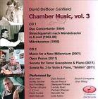 David DeBoor Canfield: Chamber Music, Vol. 3 (CD, Jun-2013, 2 Discs, Enharmonic)