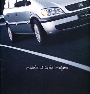 2002-2003-Holden-Zafira-Opel-22-page-Original-Car-Sales-Brochure