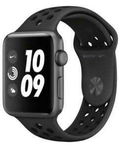 Apple-Watch-Nike-Series-3-42mm-Smartwatch-Space-Gray-Black-MQL42LL-A