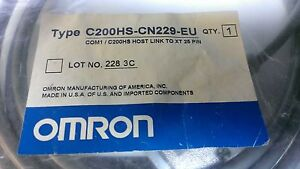 OMRON-C200HS-CN29-EU-COM1-C200HS-HOST-LINK-TO-XT-26-PIN