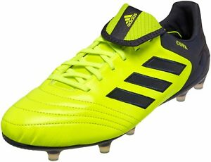 new concept fe324 8595b Image is loading Adidas-Copa-17-1-FG-S77126-Yellow-US-