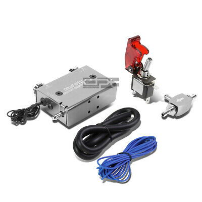 Rocket Switch Silver Dual Stage Turbocharger Boost Electronic Controller Kit
