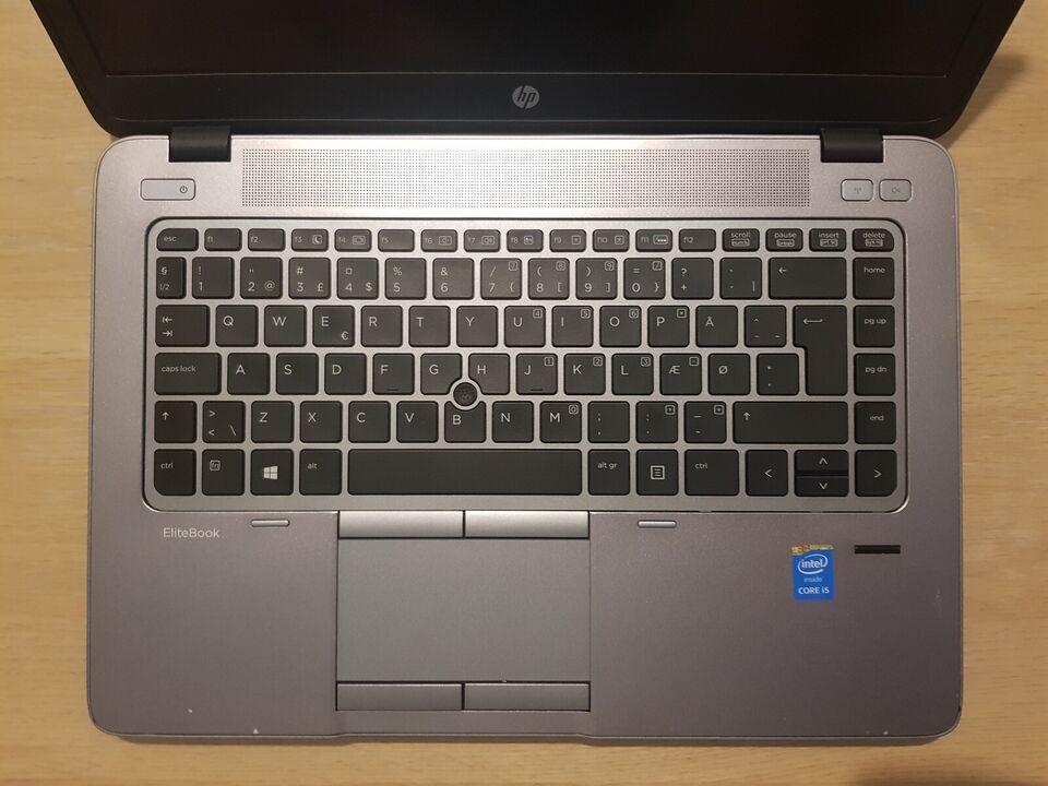 HP Elitebook 840 G2, i5-5200u 2,20 GHz, 8 GB ram