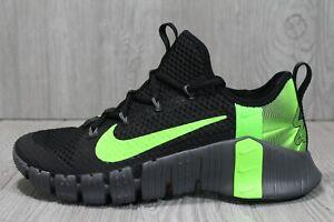 """59 Nike Free Metcon 3 """"Black Venom"""" Russell Wilson CZ6722-003 Seahawks Shoes 8.5"""