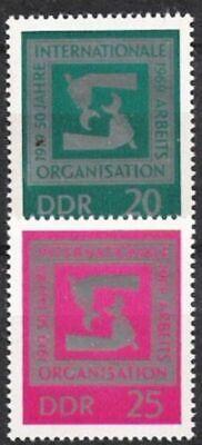 Humor Ddr Nr.1517/18 ** 50 Jahre Iao 1969 Postfrisch Durchblutung GläTten Und Schmerzen Stoppen Ddr 1949-1990 Deutschland