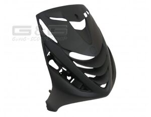 FRONT FAIRING FRONT PANELING in Black Matte for Piaggio Zip 2 SP 50 LC