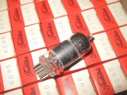NIB TOSHIBA 6GM6 Vacuum Tube NOS 1PCS JAPAN