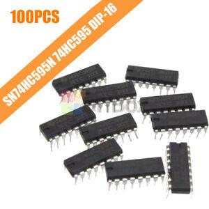 10pcs 2.0 ~ 6.0 V TOP SN74HC595N 74HC595 8-Bit Shift Register DIP-16 IC