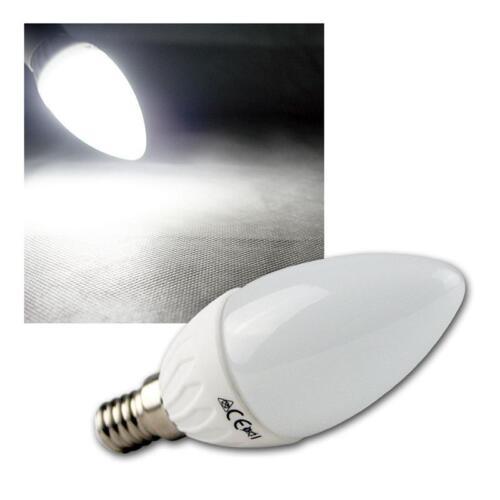 Leuchtmittel LED-Kerzenlampe E14 kaltweiß Birne Kerze E-14 Glühbirne 420lm