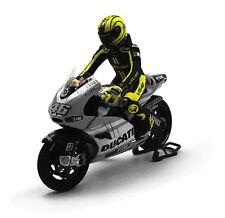 Minichamps 1/12 2010 Valentino Rossi Figure Valencia Test