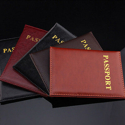 Passport Holder Case Easter Eggs Under Flowers Protective Premium Leather RFID Blocking Wallet Case for Passport