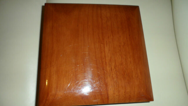 Brand new High Quality Polished Wooden Jewellery Box for 50 Rings~.