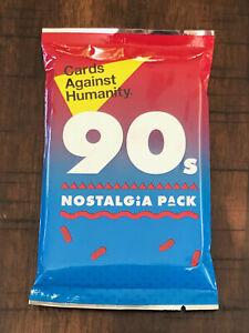 Cards-Against-Humanity-anos-90-nostalgia-Pack-Conjunto-de-Expansion-Nuevo-Sellado