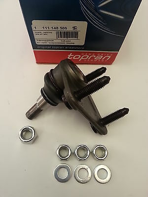 AUDI A3/S3/TT FRONT N/S LEFT OR O/S RIGHT SUSPENSION BALL JOINT KIT 8N0407365C
