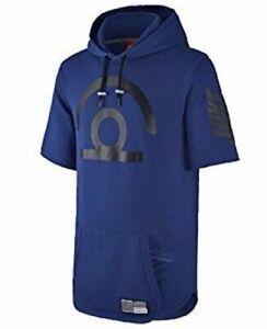 sudadera hombre Royal V3 de Nwt 455 manga Blue corta Pivot con Air 85 Nike S Deep para 743207 capucha Iq7x76X8w