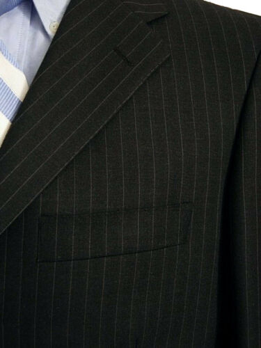 4 sur 8 Abito uomo Tessuto Ermenegildo ZEGNA tg. 46 Lana Grigio Gessato New  Wool Suit a7229102e46