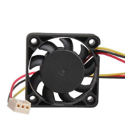 Mini 3 Pin 40mm PC Computer CPU Cooler Cooling Fan 40x40x10mm DC 12V 9 Blades