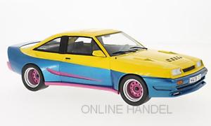 +++ Opel Manta B Mattig yellow   blue 1991 MCG  1 18  Manta Manta +++