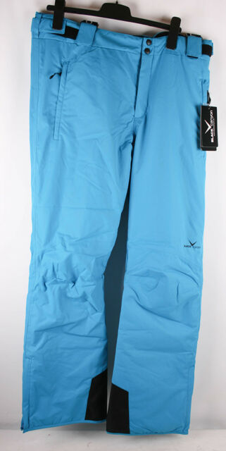 Black Canyon Pantaloni da sci e Snowboard Uomo Blu 56